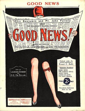 Good-News Lady w Garter Belt