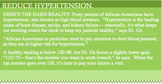 Reduce Hypertension NOTE