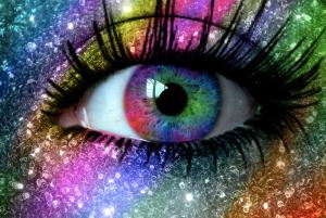 Rainbow in my eye