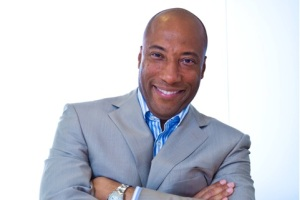 Staying up late with Byron Allen...