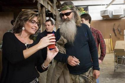 NP - Sarah Palin and Phil