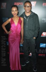 Kerry Washinton + Husband