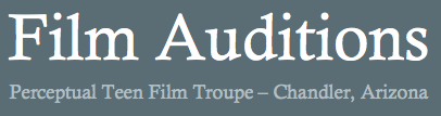Perceptual Film Audition Banner