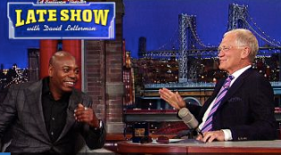 Chappelle and Letterman