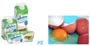Egg whites vs Whole Eggs