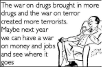 WAR on JOBS an MONEY