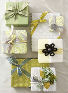 Martha Stewart Gift Wrapping