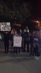 Protesters in Tempe,AZ - ASU 20141204