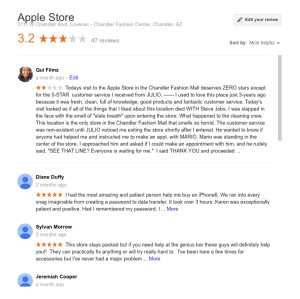 Apple Store REVIEW - Qui