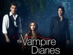 THE VAMPIRE DIARIES Pictured (L-R): Paul Wesley as Stefan, Nina Dobrev as Elena, and Ian Somerhalder as Damon. Image Number: VD4_3Shot_Garden_2386re.jpg. Photo Credit: Justin Stephens/The CW. © 2012 The CW Network, LLC. All rights reserved.