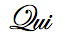 Qui Signature Logo