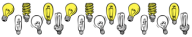 light-bulb divider