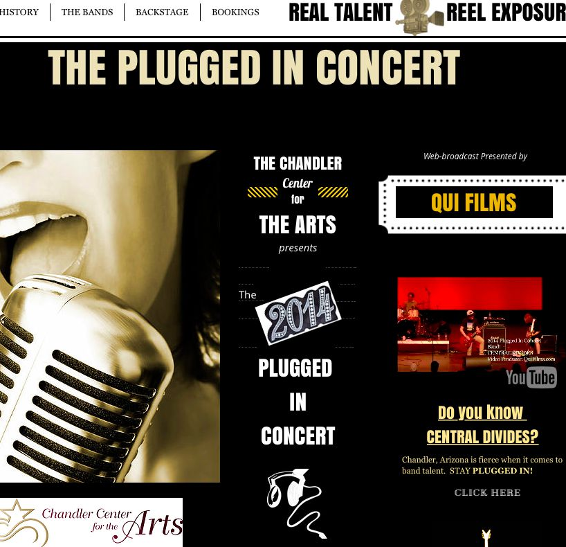 The Chandler Center for The Arts Presents: The Plugged In Concert
