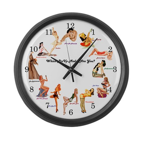 which_pinup_are_you_large_wall_clock-cafe-press