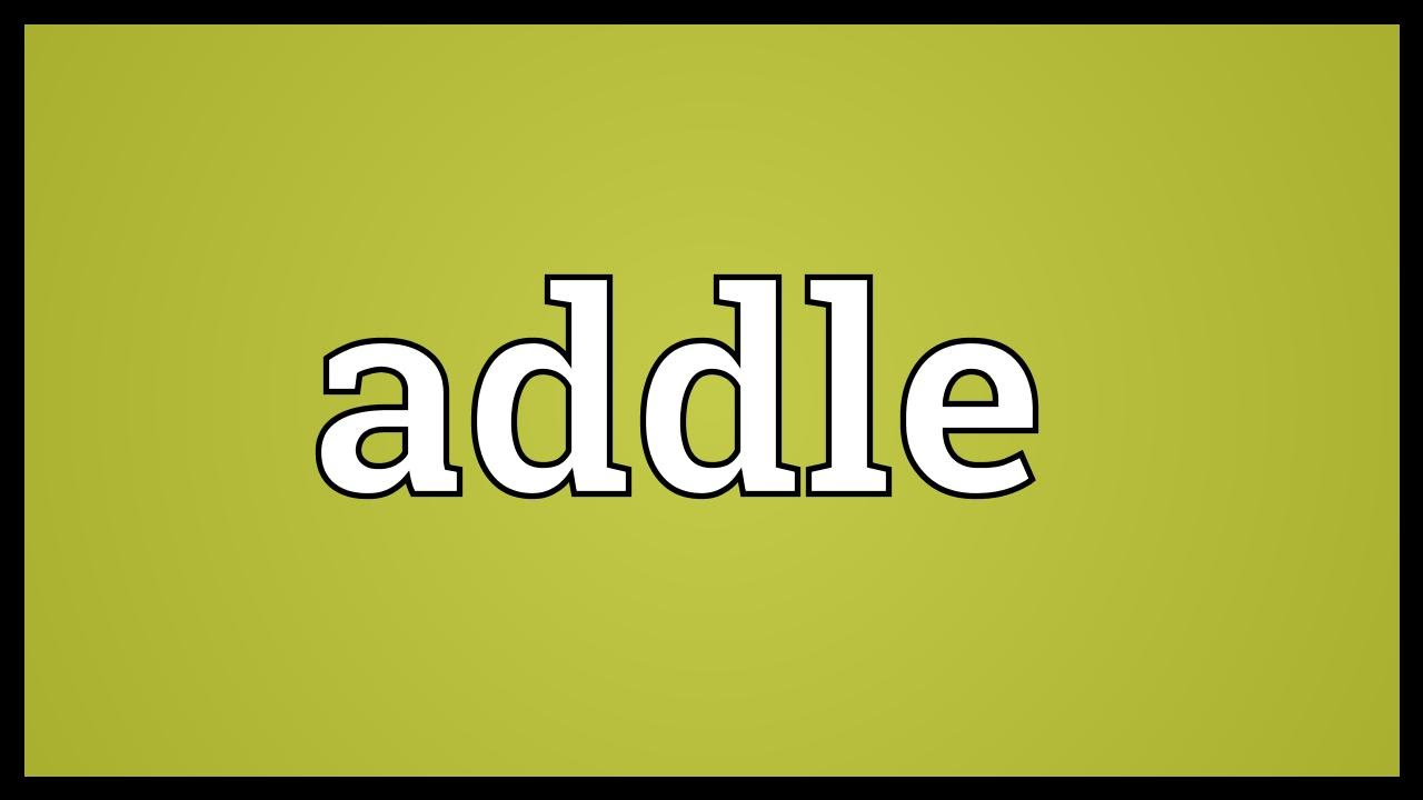 addle