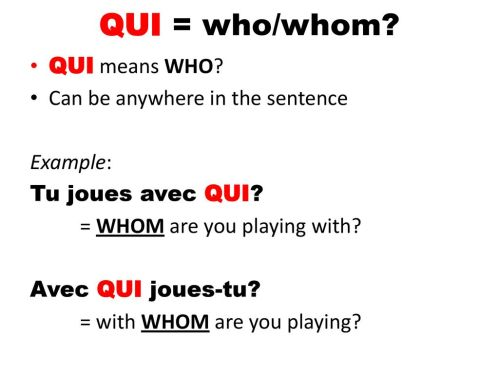 Qui-Who_French-grammar